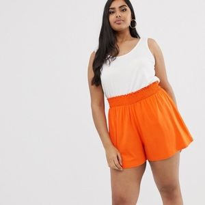 ASOS Curve | Orange Size 16 Shorts New Tags. A22